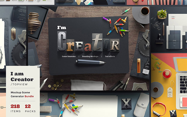 CREATOR MOCKUPS